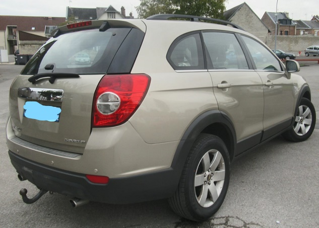 CHEVROLET CAPTIVA 2.0 VCDI 150 CH 4WD complet